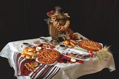 επιτραπέζιο τσάι λεμονιών μπισκότων Στοκ εικόνες με δικαίωμα ελεύθερης χρήσης