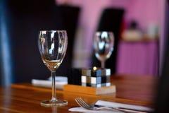 επιτραπέζιο wineglass Στοκ φωτογραφία με δικαίωμα ελεύθερης χρήσης