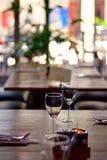 επιτραπέζιο wineglass Στοκ φωτογραφίες με δικαίωμα ελεύθερης χρήσης