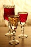 επιτραπέζιο wineglass Στοκ Εικόνες