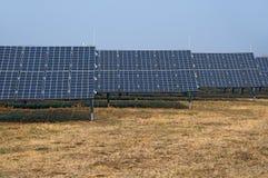 επιτροπές εγκαταστάσεων ηλιακές Στοκ Φωτογραφία