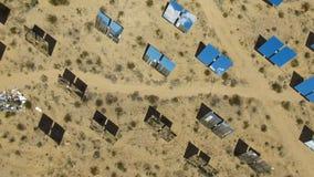 επιτροπές ηλιακές Η ηλιακή ενέργεια μια εναλλακτική πηγή της ενέργειας είναι ηλιακά πλαίσια Στοκ Εικόνα