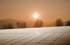 επιτροπές ηλιακές στοκ φωτογραφία