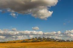 επιτροπές πεδίων ηλιακές Στοκ φωτογραφία με δικαίωμα ελεύθερης χρήσης