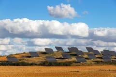 επιτροπές πεδίων ηλιακές Στοκ εικόνες με δικαίωμα ελεύθερης χρήσης