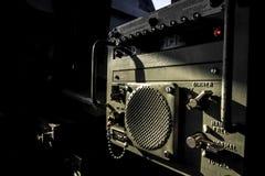 Επιτροπή ενδοεπικοινωνίας στο πολεμικό πλοίο Στοκ Φωτογραφίες