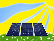 επιτροπή ηλιακή Στοκ Εικόνα