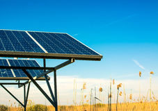 Επιτροπή ηλιακής ενέργειας Στοκ Εικόνα