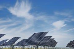επιτροπή πεδίων ηλιακή Στοκ Φωτογραφία