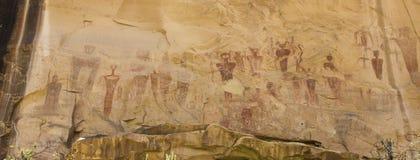 Επιτροπή τέχνης βράχου εμποδίων φαραγγιών Sego στοκ φωτογραφία