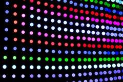 Επιτροπή φω'των των μουτζουρωμένων οδηγήσεων του DJ Στοκ φωτογραφία με δικαίωμα ελεύθερης χρήσης