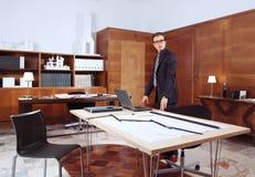 Επιτυχής αρχιτέκτονας Στοκ φωτογραφία με δικαίωμα ελεύθερης χρήσης