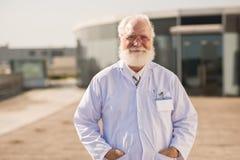 Επιτυχής επιστήμονας Στοκ Εικόνες