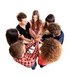 Επιτυχής επιτυχία εορτασμού επιχειρησιακών ομάδων στοκ εικόνα με δικαίωμα ελεύθερης χρήσης