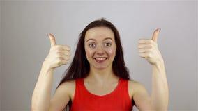 Επιτυχής επιχειρηματίας δάχτυλων απόθεμα βίντεο