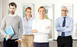 Επιτυχής ομάδα πωλήσεων Στοκ φωτογραφία με δικαίωμα ελεύθερης χρήσης