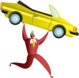 επιτυχία αυτοκινήτων διανυσματική απεικόνιση