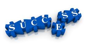 επιτυχία επίτευξης Διανυσματική απεικόνιση