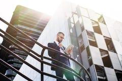 Επιτυχία στην επιχειρησιακή έννοια Στοκ Εικόνες