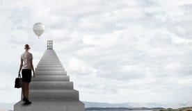 επιτυχία στον τρόπο Στοκ φωτογραφίες με δικαίωμα ελεύθερης χρήσης