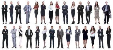 Επιτυχείς επιχειρηματίες που απομονώνονται στο άσπρο υπόβαθρο στοκ φωτογραφία με δικαίωμα ελεύθερης χρήσης