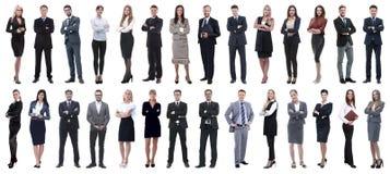 Επιτυχείς επιχειρηματίες που απομονώνονται στο άσπρο υπόβαθρο στοκ φωτογραφίες με δικαίωμα ελεύθερης χρήσης
