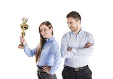 Επιτυχείς επιχειρησιακοί συνάδελφοι Στοκ Εικόνες