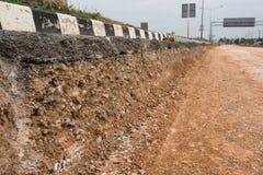 Επιτόπου ανακύκλωση πεζοδρομίων Στοκ φωτογραφία με δικαίωμα ελεύθερης χρήσης