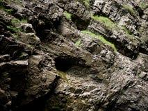 Επιφάνεια βράχου του τοίχου φαραγγιών Στοκ φωτογραφία με δικαίωμα ελεύθερης χρήσης
