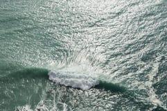 Επιφάνεια θάλασσας Στοκ Εικόνες