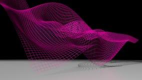 Επιφάνεια κυματισμού math ελεύθερη απεικόνιση δικαιώματος