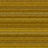 Επιφάνεια μετάλλων Goldtone με τα λωρίδες και τις πτυχές στοκ εικόνες