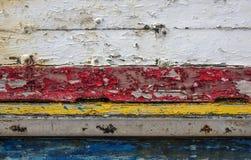 Επιφάνεια με το χρώμα αποφλοίωσης Στοκ Φωτογραφία