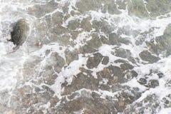 Επιφάνεια νερού Μαύρης Θάλασσας στοκ φωτογραφίες