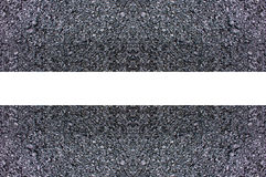 Επιφάνεια οδικής ασφάλτου με ένα σχέδιο των άσπρων γραμμών Στοκ φωτογραφίες με δικαίωμα ελεύθερης χρήσης