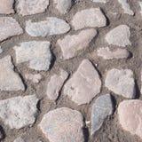 Επιφάνεια πετρών επίστρωσης ως αφηρημένο υπόβαθρο Στοκ Φωτογραφία