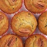 Επιφάνεια που καλύπτεται με muffins Στοκ εικόνα με δικαίωμα ελεύθερης χρήσης