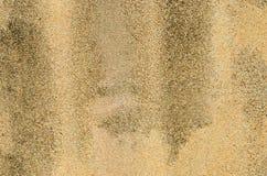 Επιφάνεια τοίχων αμμοχάλικου με τους λεκέδες Στοκ φωτογραφία με δικαίωμα ελεύθερης χρήσης