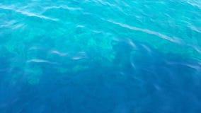 Επιφάνεια του θαλάσσιου νερού Στοκ Εικόνα