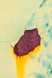 Επιφάνεια του μετάλλου Στοκ Φωτογραφία