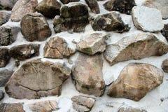 Επιφάνεια του τοίχου πετρών Στοκ φωτογραφίες με δικαίωμα ελεύθερης χρήσης