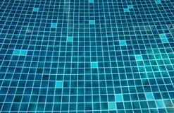 Επιφάνεια του φωτεινού υποβάθρου πισινών κεραμιδιών aqua μπλε βερνικωμένου μωσαϊκό Στοκ φωτογραφία με δικαίωμα ελεύθερης χρήσης