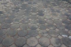 Επιφάνεια φραγμών πεζοδρομίων οδών Στοκ φωτογραφία με δικαίωμα ελεύθερης χρήσης