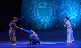 """Επιφορτίζεται με μια αποστολή σε ένα κρίσιμο και δύσκολο όνειρο δράματος στιγμή-χορού """"The του θαλάσσιου μεταξιού Road† Στοκ Εικόνες"""