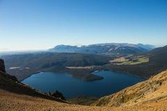 Επιφυλακή λιμνών και βουνών στοκ φωτογραφία
