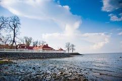 Επιφυλακή με τις απόψεις της θάλασσας στοκ φωτογραφία με δικαίωμα ελεύθερης χρήσης