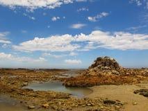 Επιφύλαξη φύσης ακρωτηρίων recife, Νότια Αφρική Στοκ Εικόνες