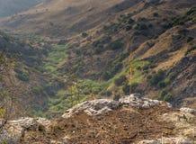 Επιφύλαξη φύσης του Ισραήλ Gamla Στοκ φωτογραφία με δικαίωμα ελεύθερης χρήσης