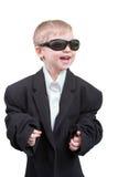 επιχείρηση αγοριών ευτυ& Στοκ Εικόνα