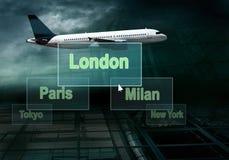 επιχείρηση αεροπλάνων στοκ φωτογραφία με δικαίωμα ελεύθερης χρήσης